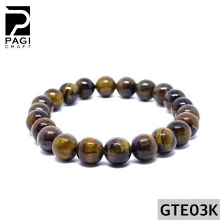 Gelang Batu Akik Tiger Eye 8mm