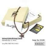 Kalung Kokka BERSERTIFIKAT Bintang Coklat Kaukah Koka Kaoka